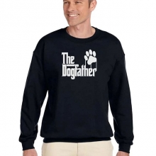 "Now announcing ""The Dogfather"" sweater for those wonderful dog dads out there. Sweaters are $50.00 and all proceeds go to the rescue. Sizes S-5XL To pre order please e-mail prairieskydr@hotmail.com and include your size and style. Orders will arrive i"